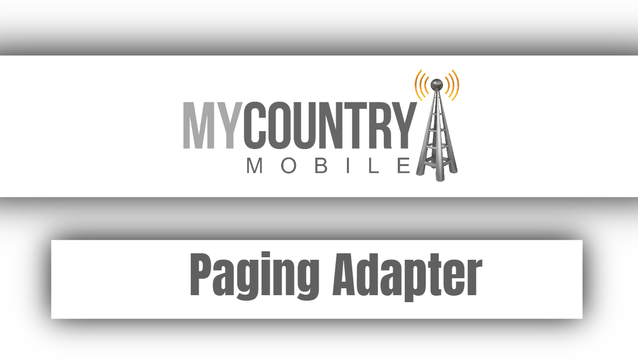 Paging Adapter