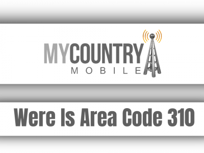 Were Is Area Code 310
