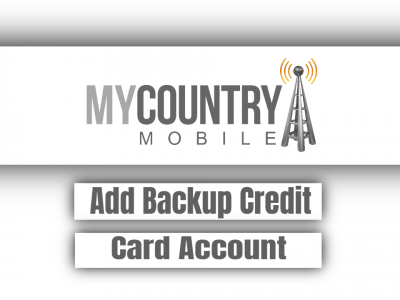 Add Backup Credit Card Account