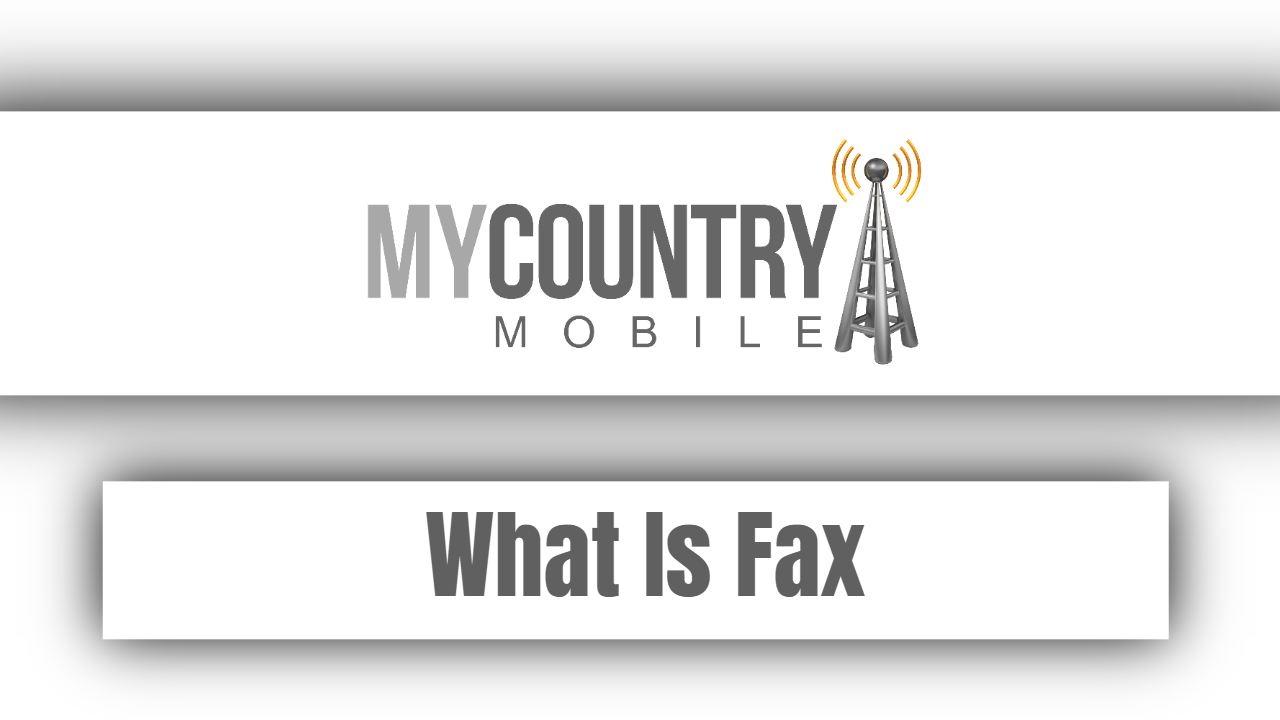 What Is Fax