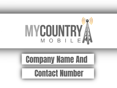 Company Name And Contact Number
