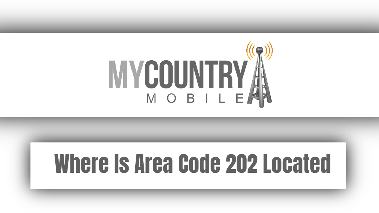 Where Is Area Code 202 Located