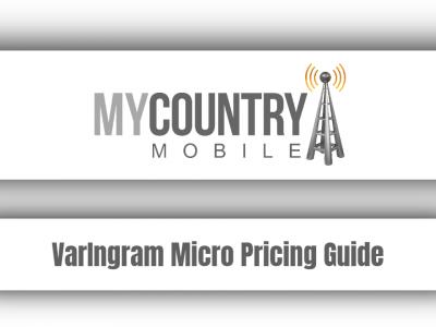VarIngram Micro Pricing Guide