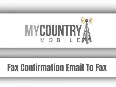Fax Confirmation Email To Fax