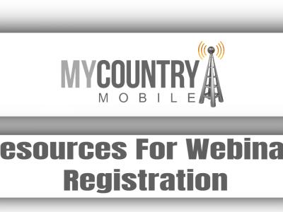 Resources For Webinar Registration