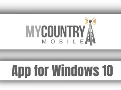 App for Windows 10