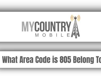 What Area Code is 805 Belong?