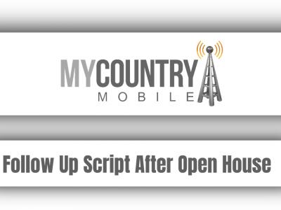Follow Up Script After Open House