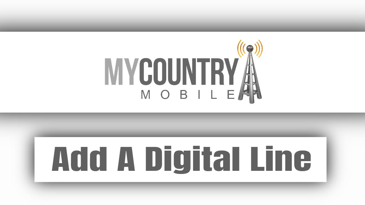 Add A Digital Line