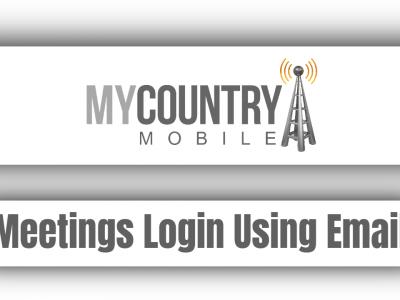 Meetings Login Using Email