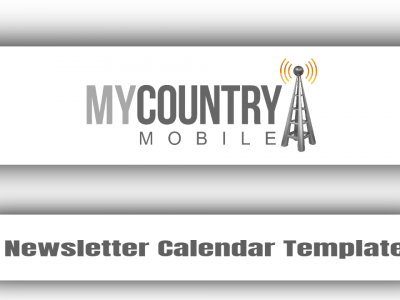 Newsletter Calendar Template