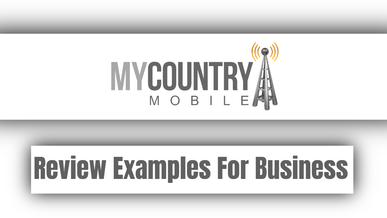 Review Examples For Business