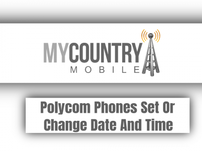 Polycom Phones Set Or Change Date And Time