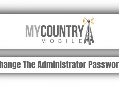 Change The Administrator Password