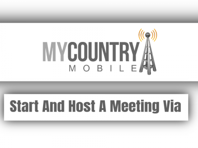 Start And Host A Meeting Via