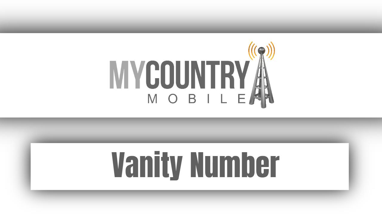 Vanity Number