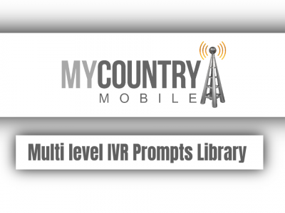 Multi level IVR Prompts Library