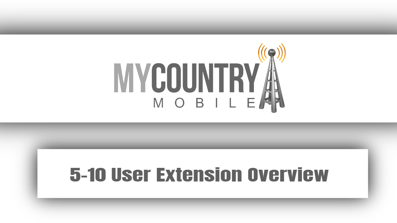 5-10 User Extension Overview