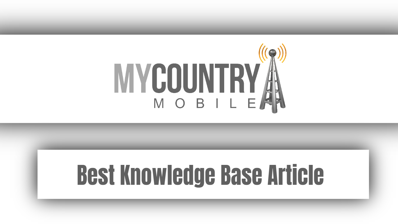 Best Knowledge Base Article