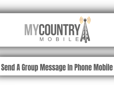 Send A Group Message In Phone Mobile