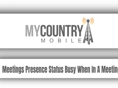 Meetings Presence Status Busy When In A Meeting