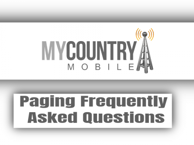Paging Frequently Asked Questions
