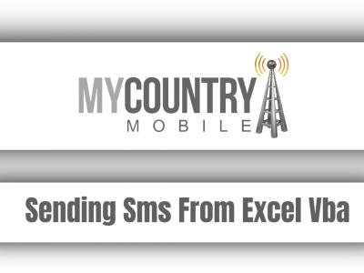 Sending Sms From Excel Vba