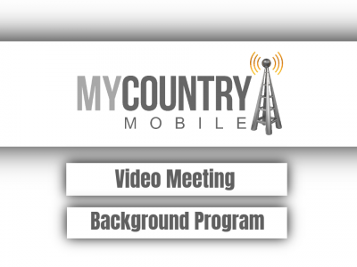 Video Meeting Background Program