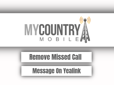 Remove Missed Call Message On Yealink