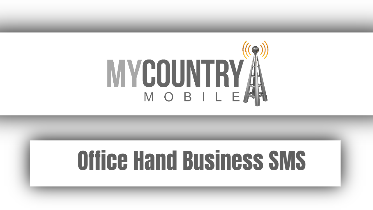 Office Hand Business SMS