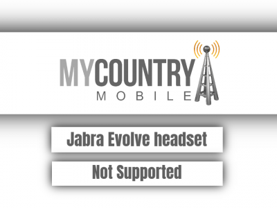 Jabra Evolve headset Not Supported